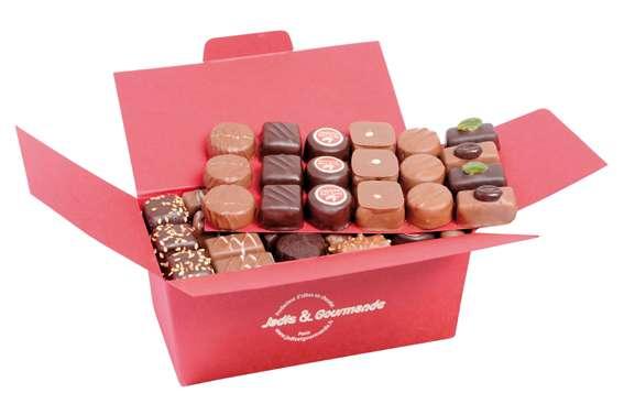 Pour partager entre amis des petits chocolats for Plat a partager entre amis