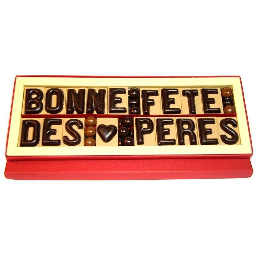 Message bonne f te des p res en chocolat - Photo fete des peres ...