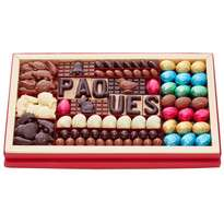 assortiment chocolats paques