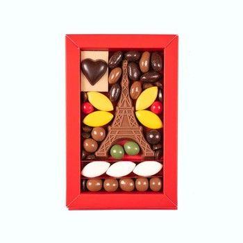 cadeau tour eiffel paris chocolat