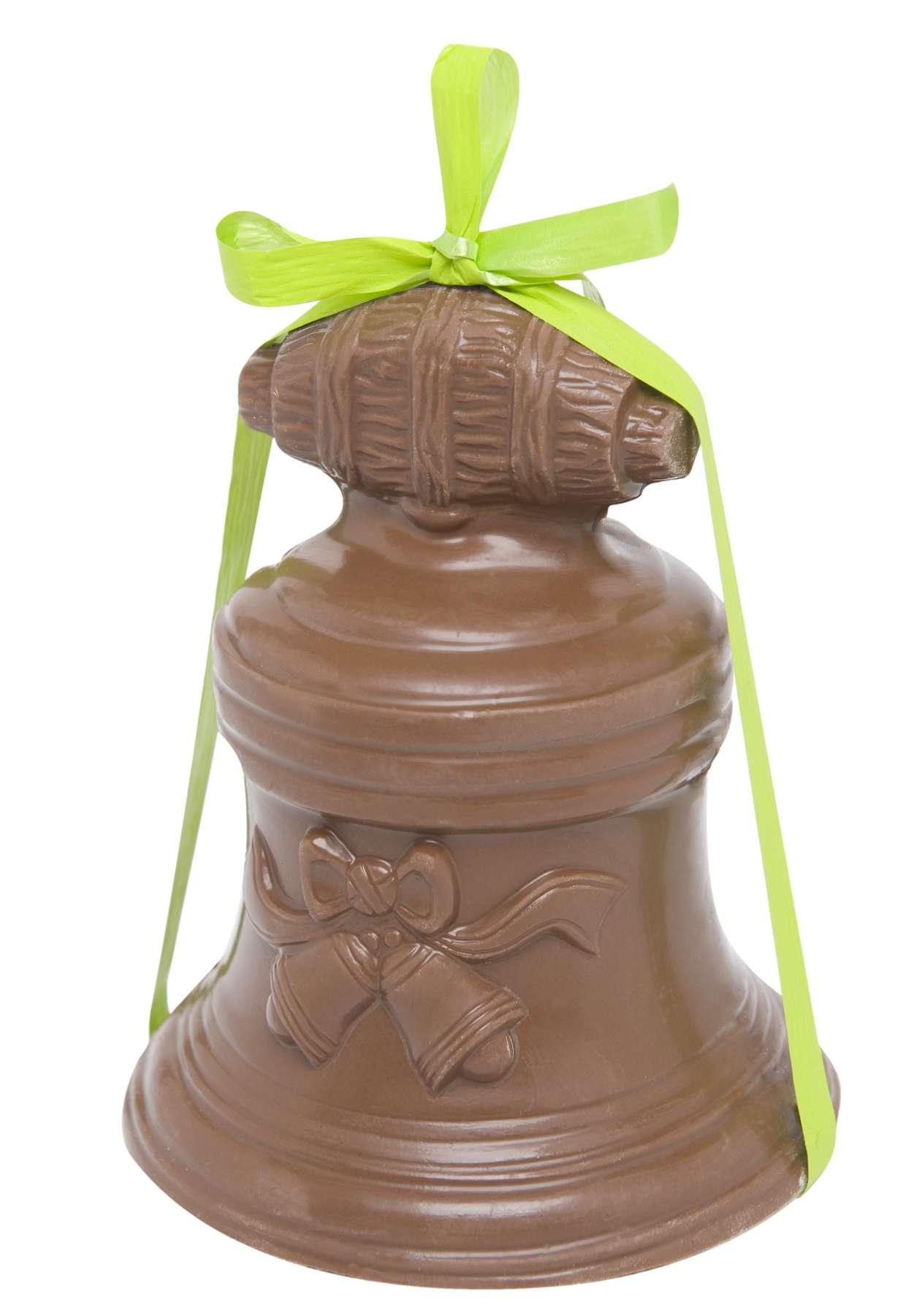 Cloche en chocolat au lait 8 et 10 cm - Chocolat de paques pas cher ...