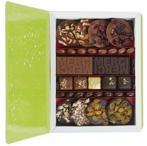 Livre gourmand / De 20 à 30 € HT : cadeau chocolat personnalisé