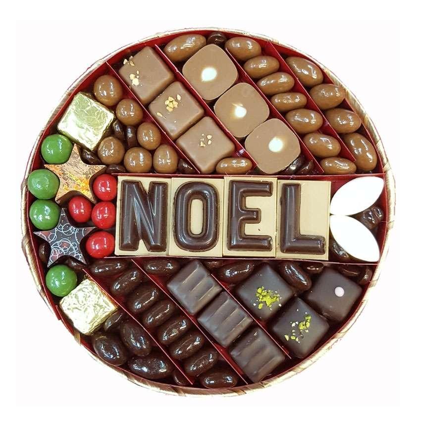 cadeau noel chocolat. Black Bedroom Furniture Sets. Home Design Ideas