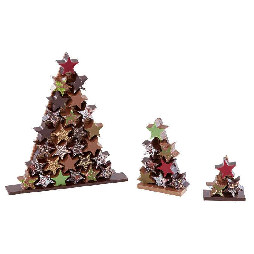 sapin de no l taille 2 cadeau no l chocolat. Black Bedroom Furniture Sets. Home Design Ideas