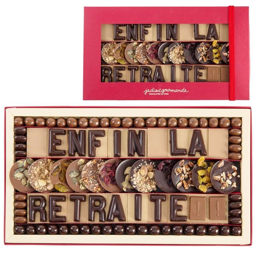 Bien-aimé chocolat depart retraite EO89