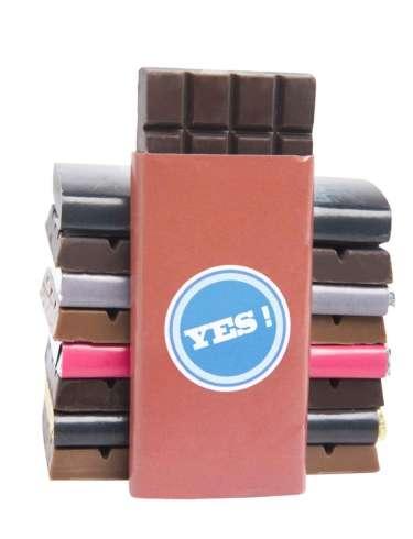 Mini tablettes personnalisées - 13,5 g / Moins de 10 € HT